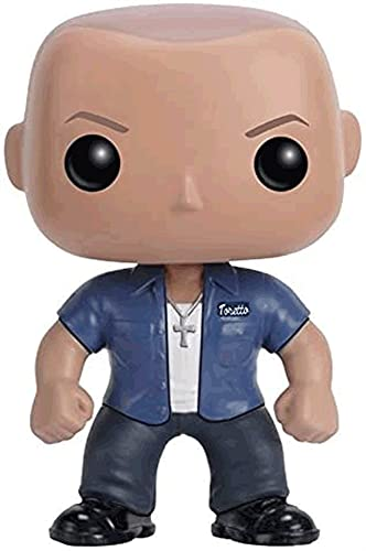 Group7 Funko Pop Movies : Fast & Furious - Dom Toretto 3.75inch Vinyl Gift for Movies Fans Toys
