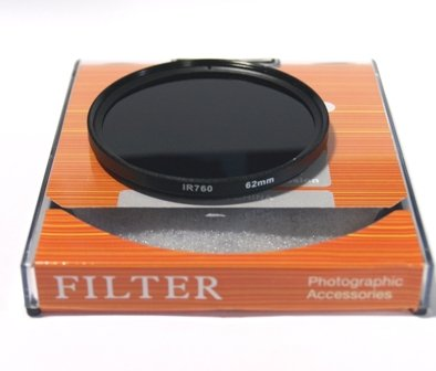 赤外線フィルターIR76 62mm