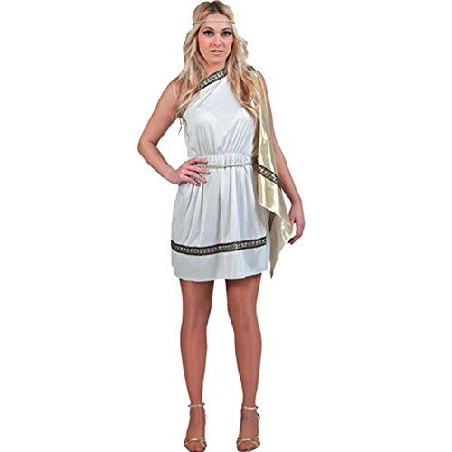 Eurocarnavales - Cs922635/m - Costume Deesse Grecque Taille M