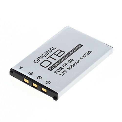 OTB Akku für Casio NP-20 Li-Ion Schwarz