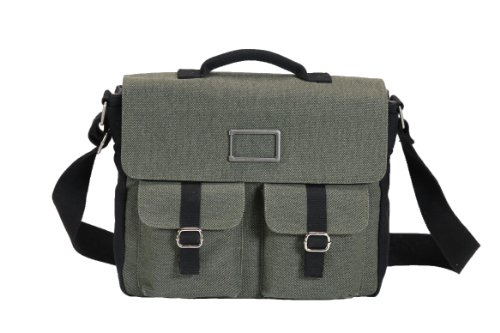 Ducti Ft. Worth Laptop Messenger Bag, Black