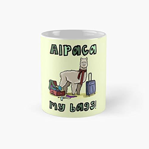 Taza clásica de Alpaca My Bags con texto en inglés 'Best Oz'