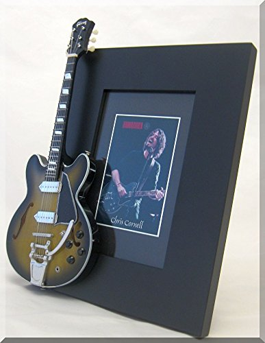 CHRIS CORNELL Miniature Guitar Picture Frame SOUNDGARDEN