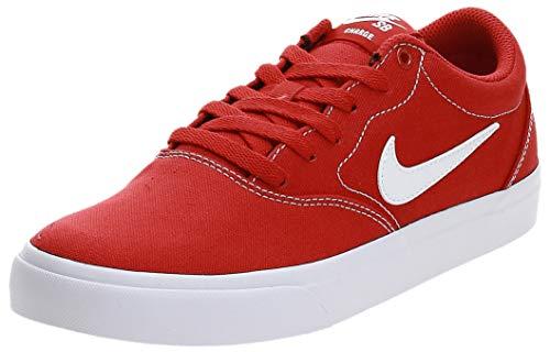 Nike SB Charge Cnvs, Zapatillas de Atletismo Unisex Adulto, Rojo, 43 EU