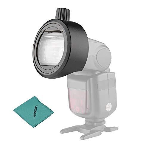 Godox S-R1 En la cámara Flash Adaptador de Forma Redonda para Montaje...