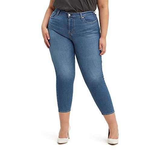 Levi's Damen Plus-Size Wedgie Jeans, Sun Devil Mid, 52