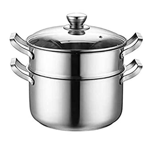 HHTD Pote de hogar Pote de Acero Inoxidable Pote de Gas de Cocina Pote de inducción Garra de inducción General Steamer Grueso