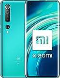 Xiaomi Mi 10 EEA 5G 8GB + 128GB Snapdragon 865 LPDDR 5 108MP Quad Camera 6,67'Schermo fluido AMOLED UFS3.0 Wifi 6 (Coral Green) Versione globale