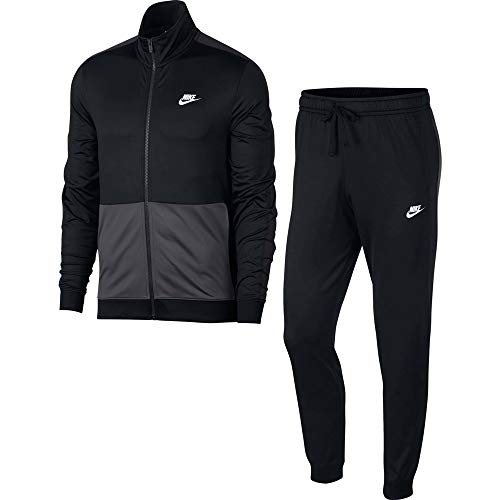 NIKE M NSW CE TRK Suit PK Chándales, Hombre, Black/Anthracite/White