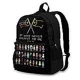 Drea-M L'Manberg SM-P School Backpack Daily Backpack Basketball Backpack for Women Men Boys Girls Kids for School College Work