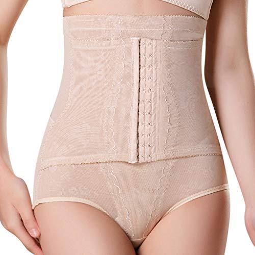 Girdles for Women Body Shaper Hi-Waiset Tummy Underwear for Control Breasted Shapewear Waist Trainer Slimmer Belt