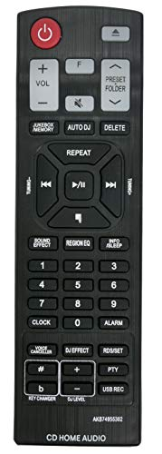 ALLIMITY AKB74955302 Mando a Distancia reemplazado por LG Home Theatre System CM8460 AKB74955301 CM9960