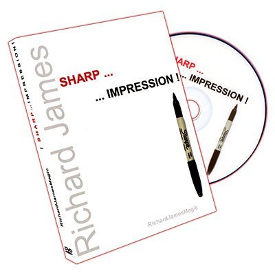 Sharp Impression (DVD and Gimmicks) by Richard James - DVD