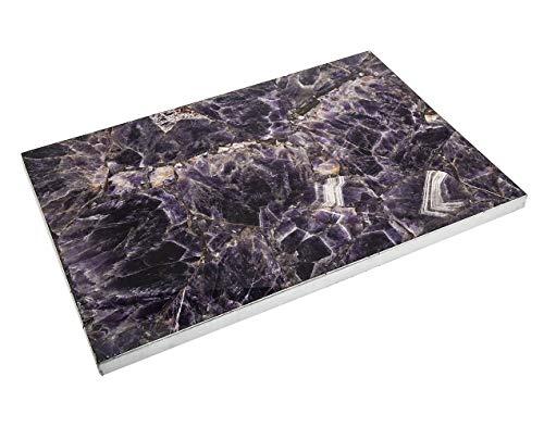 Purple Amethyst Challah Board Platter Tray by Godinger