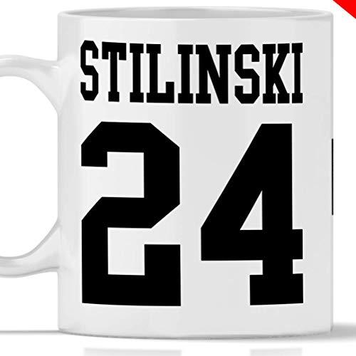 Tazza STILES STILINSKI 24. Adatta per colazione, the, tisana, caffè, cappuccino. Gadget mug Stilinski 24 tributo Serie tv Teen Wolf. Anche come idea regalo originale e simpatica