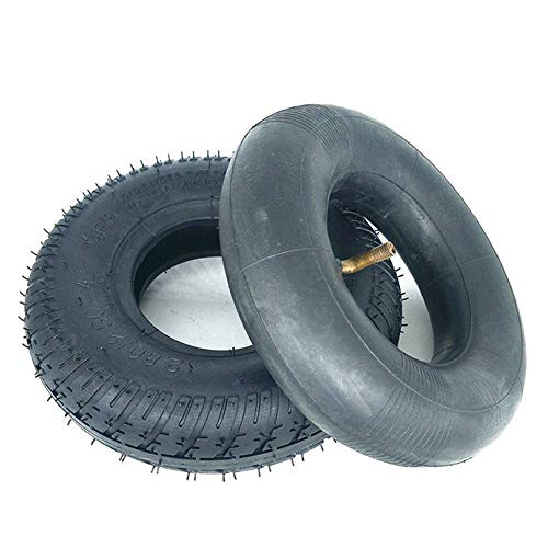 Neumáticos para Patinetes Eléctricos 2.80-2.50-4 Neumáticos Interiores Y Exteriores Goma De Alta...