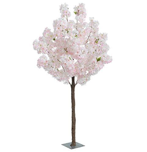 Red Hot Plant Künstlicher Kirschblütenbaum in Blassrosa oder Creme, blassrosa, 1.4m