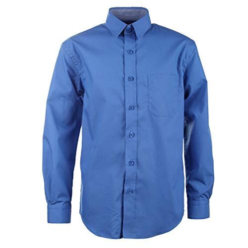 G.O.L. - Jungen Festliches Hemd Langarm, Mittelblau - 5511900, Größe 152