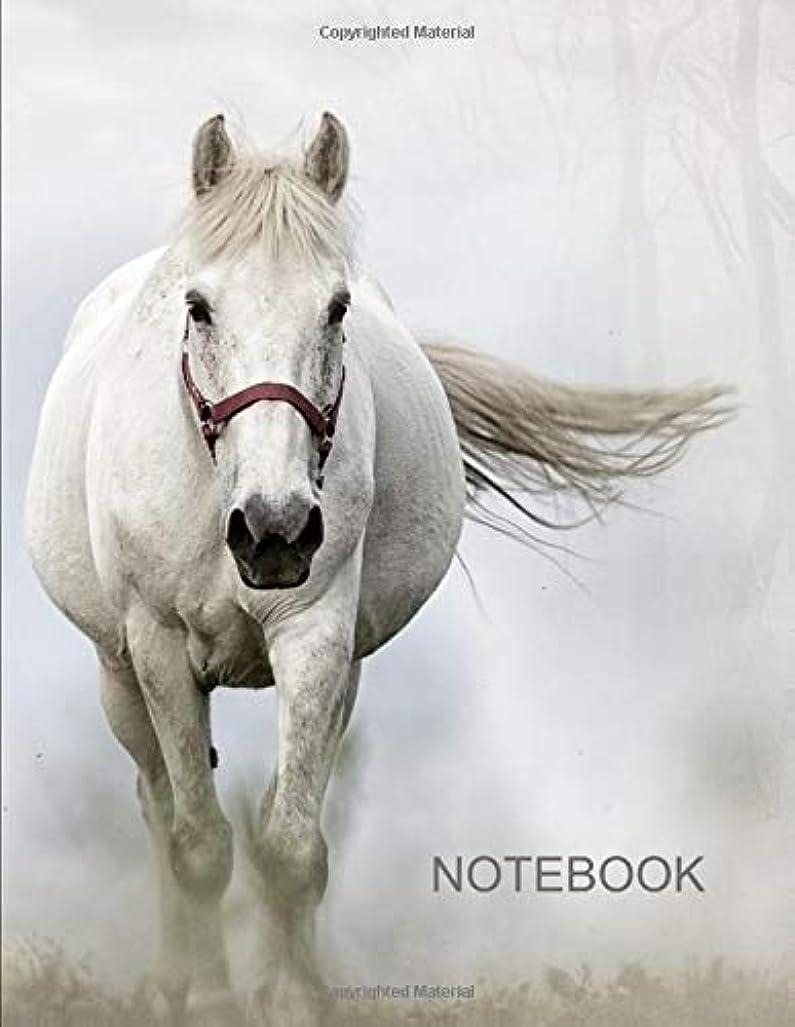 資源すごい協力Notebook. For Horse Lovers. Blank Lined College Ruled Notebook Planner Journal Diary.
