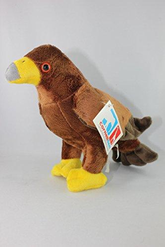 Stofftier Steinadler 19 cm, Kuscheltier Plüschtier Vogel Adler