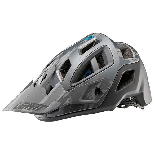 Leatt 1019303700 - Cascos de Bicicleta Unisex, Color Gris Cepillado, Talla S