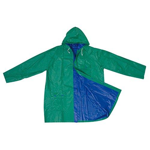 Veste de pluie réversible/dans XL/Couleur : Bleu/Vert
