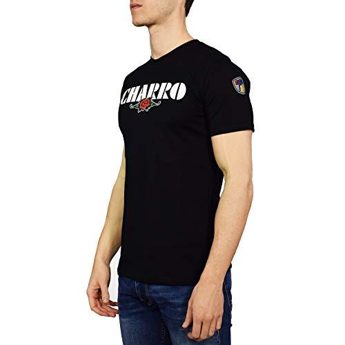 El Charro, Telethon, Paz, Camiseta negro S