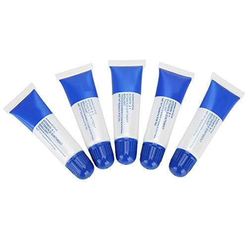 Gel reparador de tatuajes, crema de cuidado con vitamina A & D, anticicatrices, gel reparador para cejas y labios (azul)