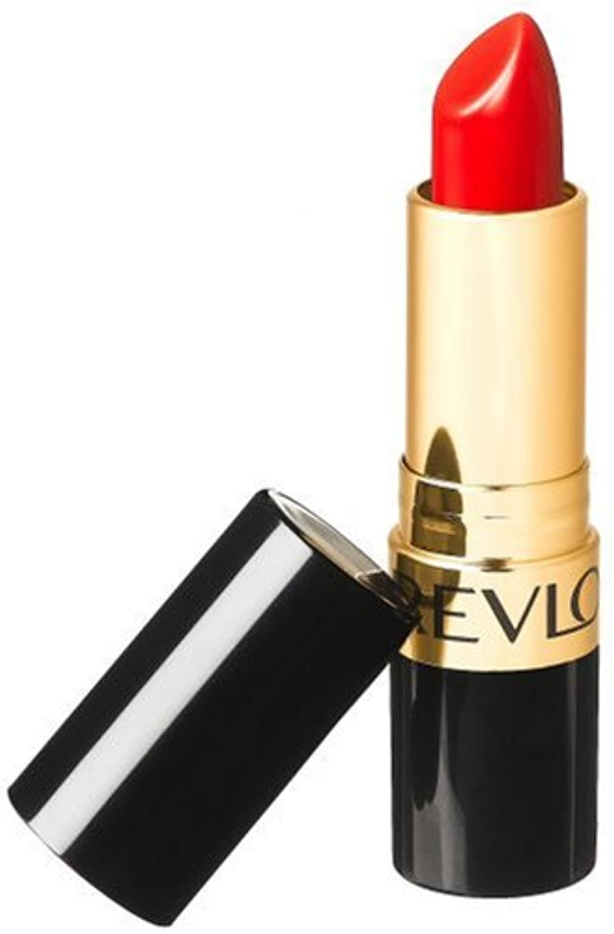 孤独なホストはしごREVLON SUPER LUSTROUS LIPSTICK #740 CERTAINLY RED