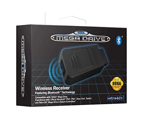 Retro-Bit Official SEGA Mega Drive Bluetooth Receiver [Importación inglesa]