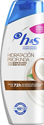 H&S Hidratación Profunda Champú Anticaspa - 1 x 340 ml