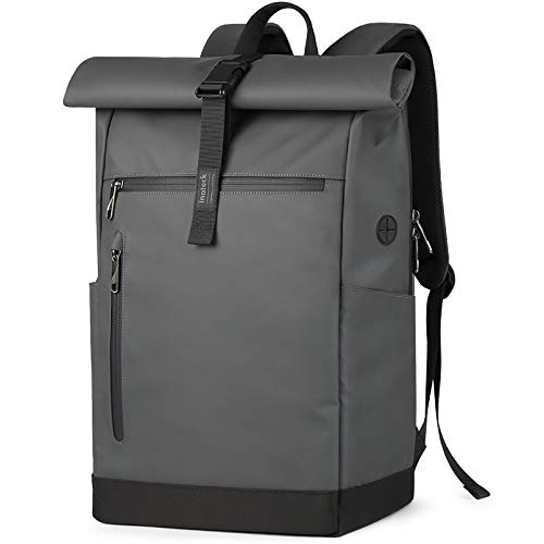 Inateck Laptop Backpack Womens Mens 17 Inch Splash-proof Antitheft Roll Top...