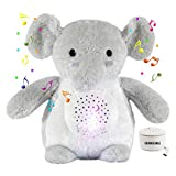Baby Crib Soother Sleep Buddy Night Light and Sound Machine, Sleep Soothers Music Player Baby White Noise with Crying Detector 15 Lullaby
