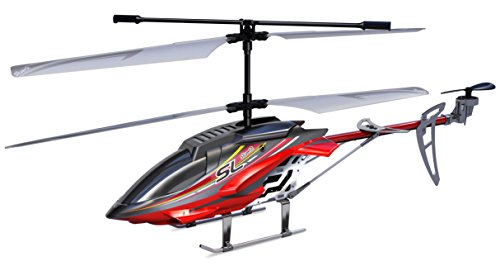 Silverlit Sky Hercules 3-Kanal Ferngesteuerter Gyro Hubschrauber mit LED-Licht (groß, Sortiert)