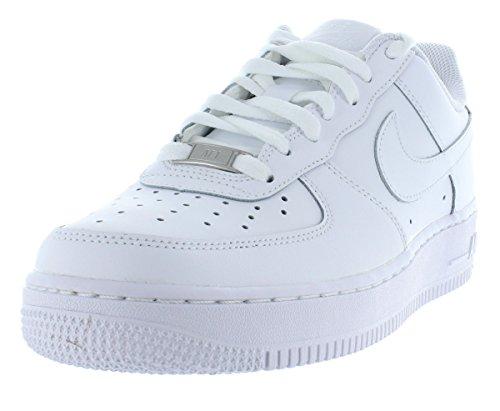 Nike Air Force One GS 314192117Zapatillas, Blanco (blanco), 38 1/2