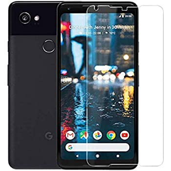 For Google Pixel 2 XL Screen Protector Tempered Glass - [2 Pack] HD Ultra Thin Screen Protector for Google Pixel 2XL [Anti-Scratch] [Bubble Free]
