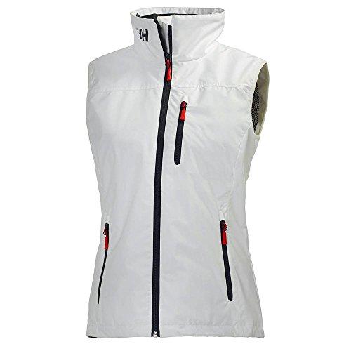 Helly Hansen W Crew Vest, Mujer, Blanco, 2XL