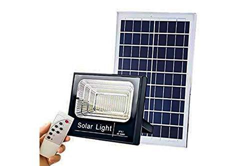 Faro LED 300W con pannello solare luce fredda faretto led casa giardino T-300