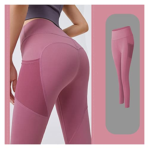 Mallas De Deporte De MujerPantalones Deportivos Pantalones de yoga Mujeres con Pocket Plus Tize Leggings Sport Girl Gym Gym Gyming Leggings Mujer Pulta Pulta Control Troce Pantalones Fitness Pantalone
