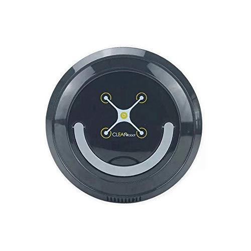 USB Opladen Stofzuigers, Huishoudelijke Schoonmaakmiddelen Robot Intelligente Automatische Besturing, Tapijt Schoonmaken Robot Vloerreiniger Oplaadbare Stofzuiger Automatische Veegmachine,Black