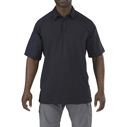 5.11 Tactical Series Rapid PERFORMANCEPOLO Polo Homme, Dark Navy, FR (Taille Fabricant : 2XL)