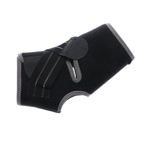 ティゴラ(TIGORA) 足首用 サポーター (TR-3F0616SUラップ) ブラック フリー
