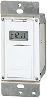 Intermatic EJ500C EI500WC In- In-Wall Electronic Timer, White