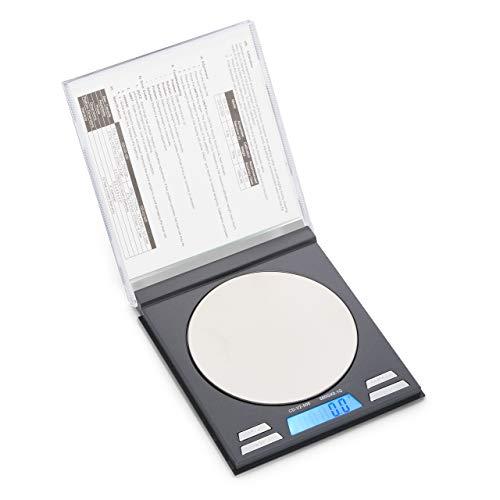 American Weigh Scales CD Series Compact Gram Digital Pocket Scale Black 500g X 01g AMW-CDV2-500