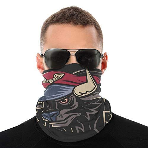 Auld-Shop Master Bison Street Fighter Variety Kopftuch Gesichtsschutz Magic Headwear Neck Gaiter Face Bandana Schal