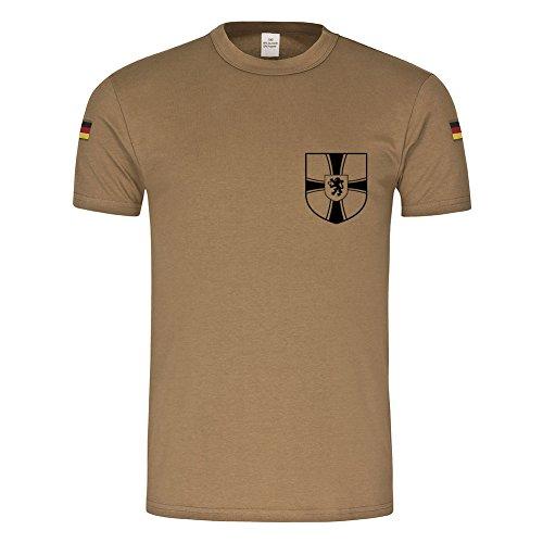 Copytec BW Tropen 1 FA - UABtl 2 Feldwebelanwärter Unteroffizieranwärterbataillon #18436, Größe:L, Farbe:Khaki