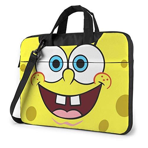 Hdadwy Spongebob Squarepants Laptop Sleeve Laptop Bag Tablet Briefcase Ultraportable Protective Handbag Oxford Cloth-for MacBook Pro/MacBook Air/Notebook Computer 13inch