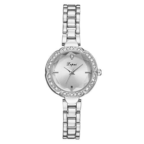 TWISFER Armbänder Armbanduhr Damen Einfache Freizeitmode Uhren konvex Kleines und exquisit Quarzuhr Slim Minimalistisch Damenuhr Schmuck Geschenk