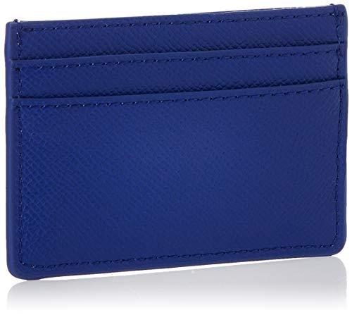 Tommy Hilfiger Womens Classic Saffiano Cc Holder Wallet Blue (Cobalt)