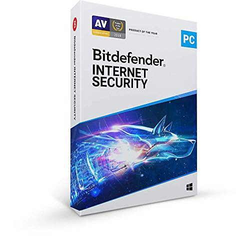 Bitdefender Internet Security 2021 - 3 Devices | 1 year Subscription | PC Activation Code by Mail